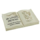 In Loving Memory Memorial Book Shaped Plaque 60935 Bereavement Remembrance